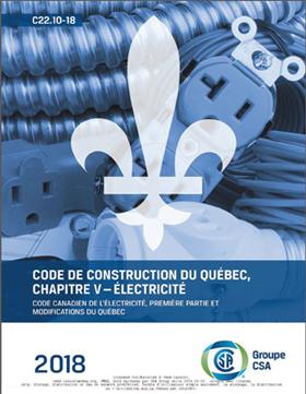Code de construction du Québec chapitre V électricité